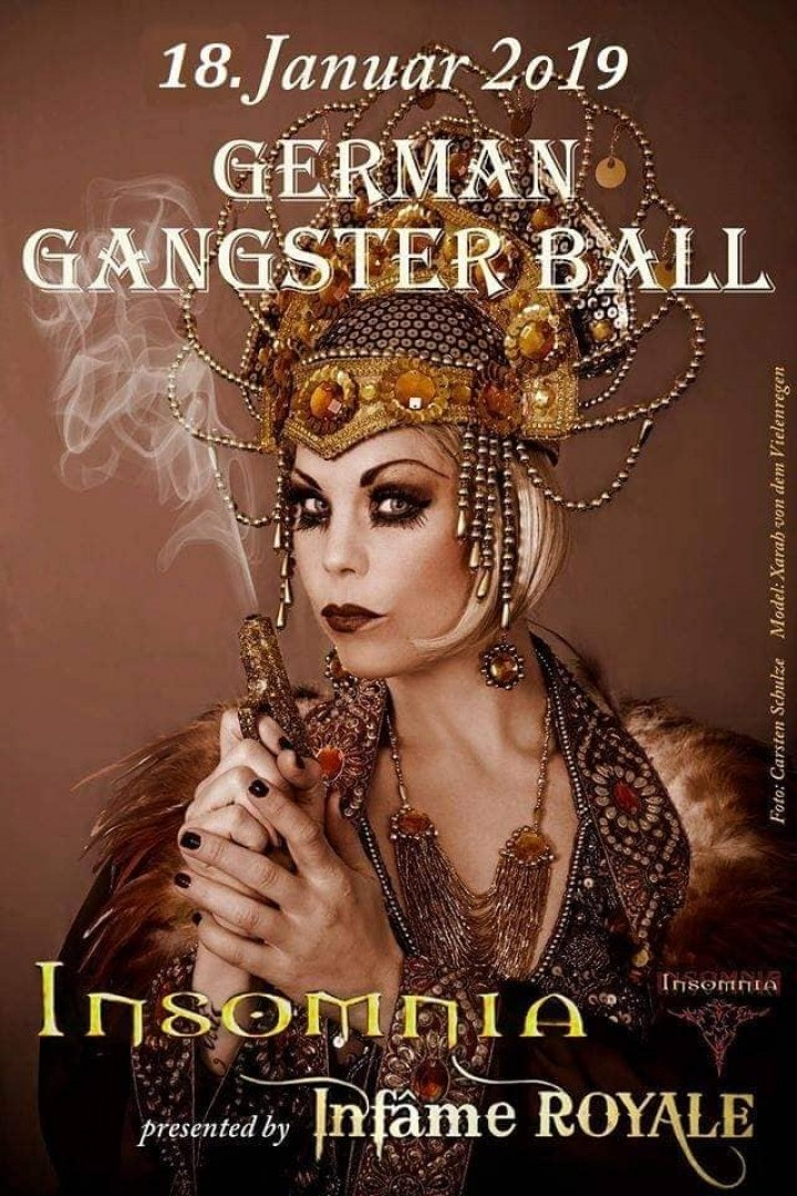 Flyer German Gangster BALL 2019